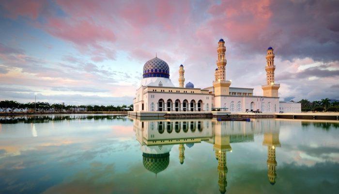 City Mosque in Kota Kinabalu, capital of Sabah