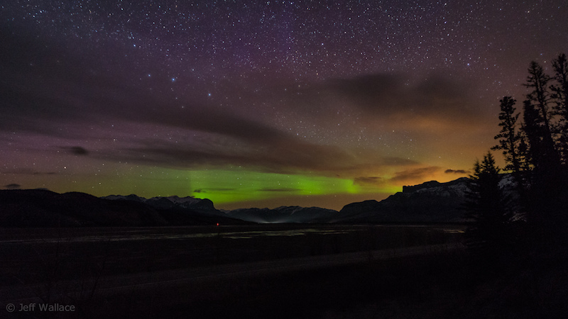 Where to see northern lights - Image c/o Jeff Wallace, Flickr