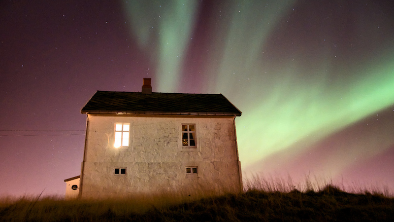 Where to see northern lights - Image c/o Trond Kristiansen, Flickr