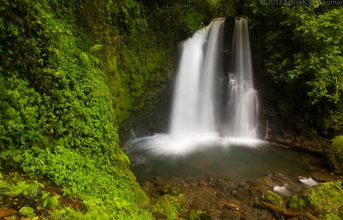 Costa Rica group tour ,-waterfall---Sathish-J