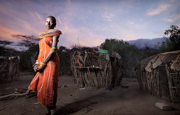 ben-mcrae-tribeswoman-hut-africa