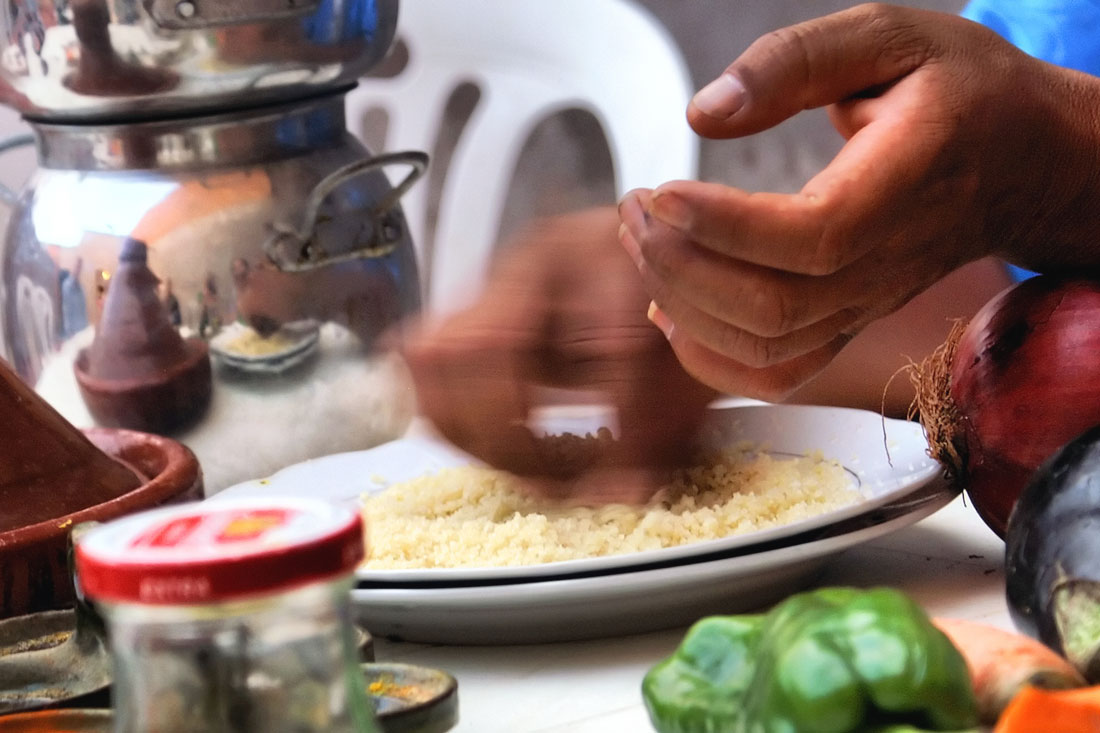 Recipe How To Cook Moroccan Couscous With Lamb And