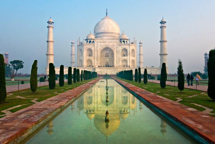 Taj Mahal in Agra, India