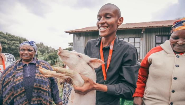Sustainable pig farming in Nairobi