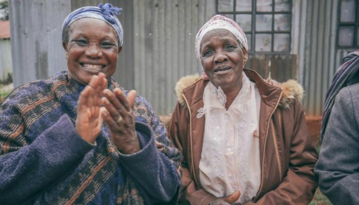 Women part of the In Focus Farm to Feast program in Nairobi