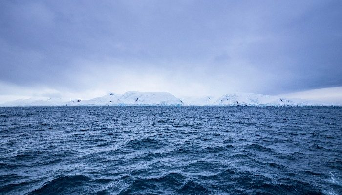 Views of Antarctica from the Drake Passage.