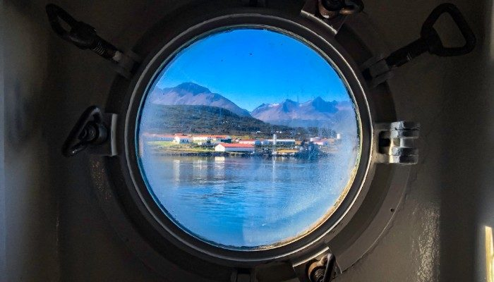 Ushuaia through the portal