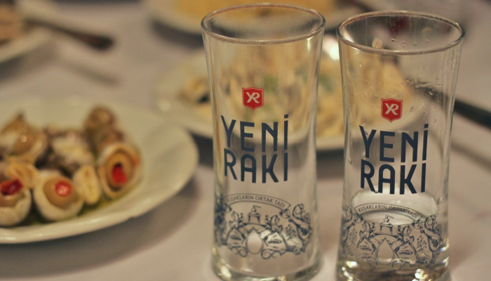 Raki in Turkey