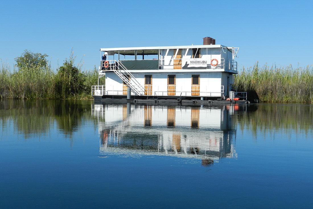 A Houseboat In Botswana S Okavango Delta