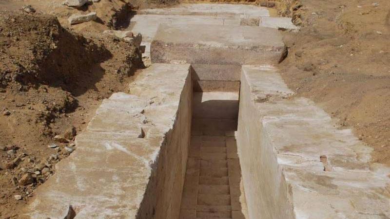 New pyramid in Dahshur