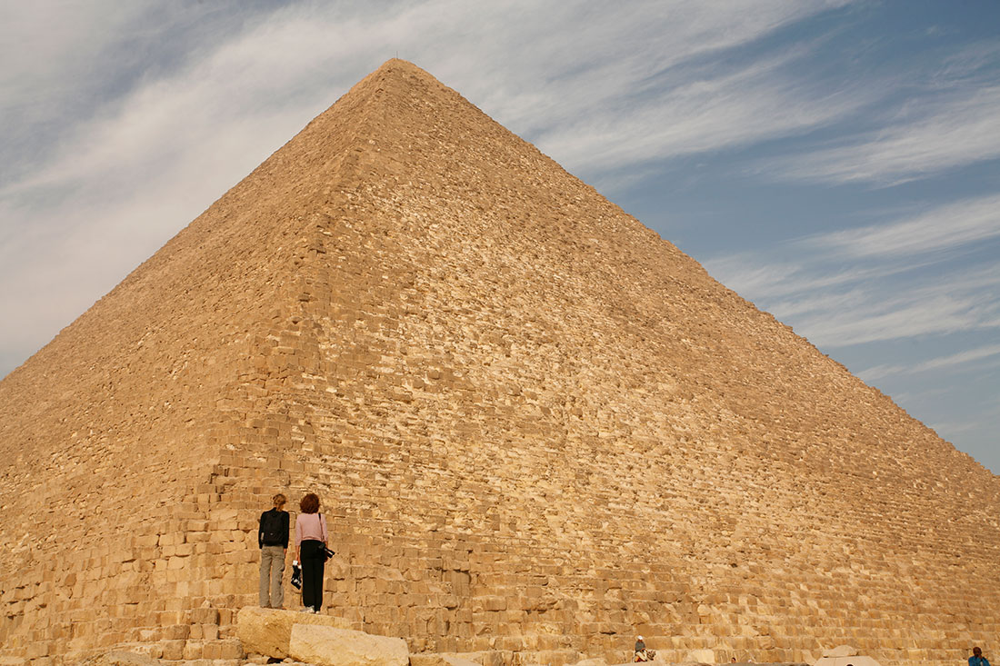 The largest pyramid in the world is not at all in Egypt