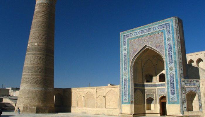 Minaret in Bukhara, Uzbekistan
