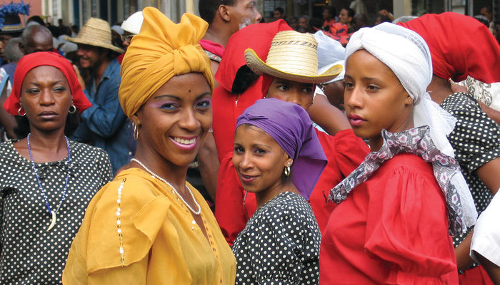 Local women in Havana, Cuba