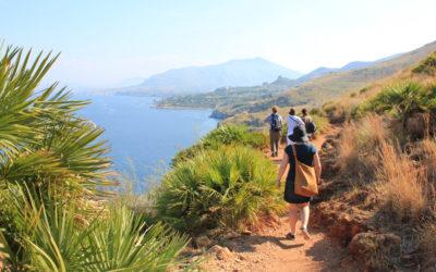 Italy Sicily hiking