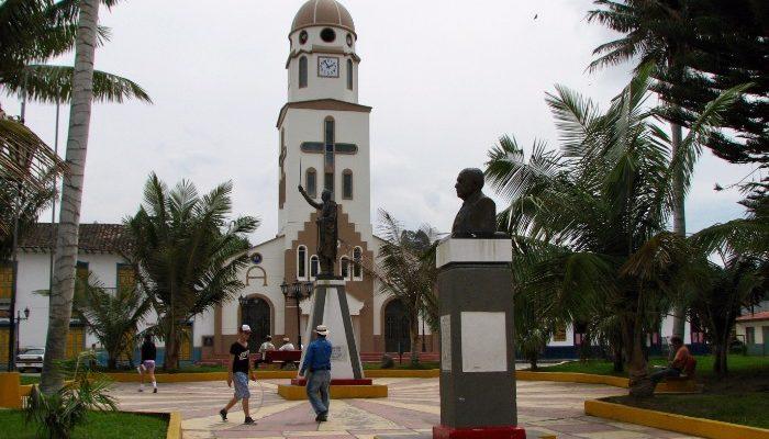 Salento's main square