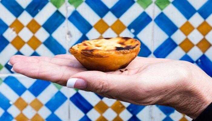 A Portuguese tart