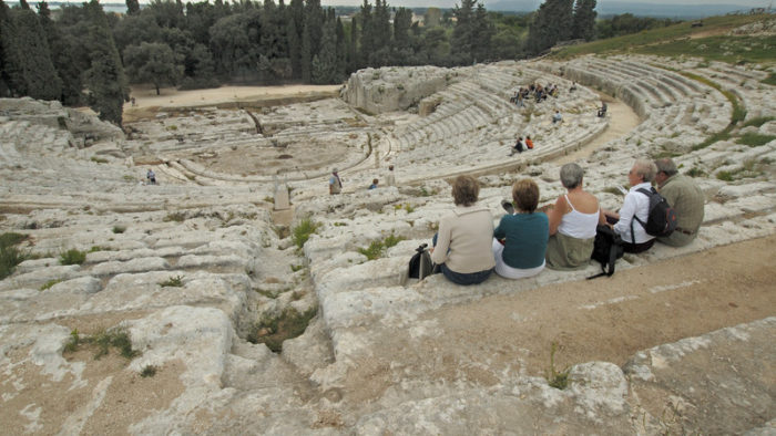 best of sicily theater ruins