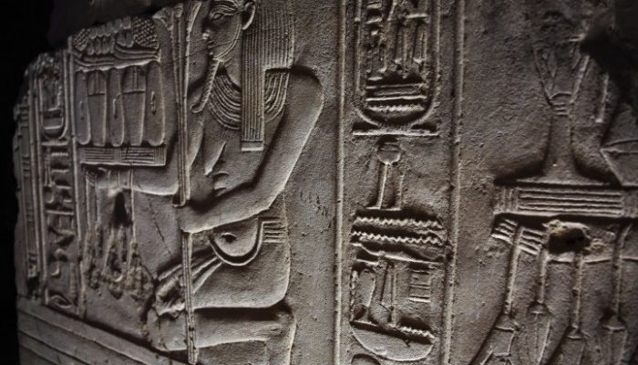 Relief in Temple of Seti
