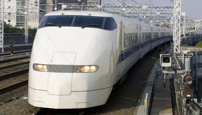 Bullet train in Japan