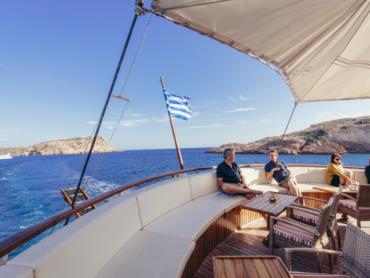 Adventure cruising in Greece