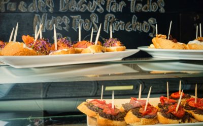 A selection of Andalusian tapas