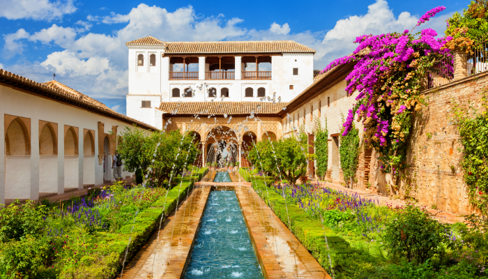 The Court of the Water Channel in the Generalife