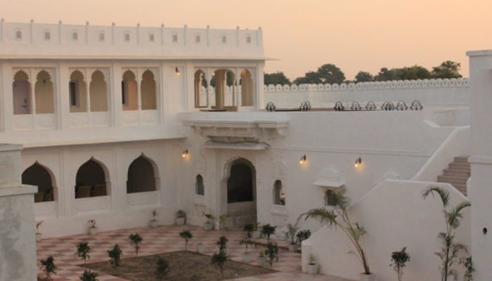 Heritage palace in India