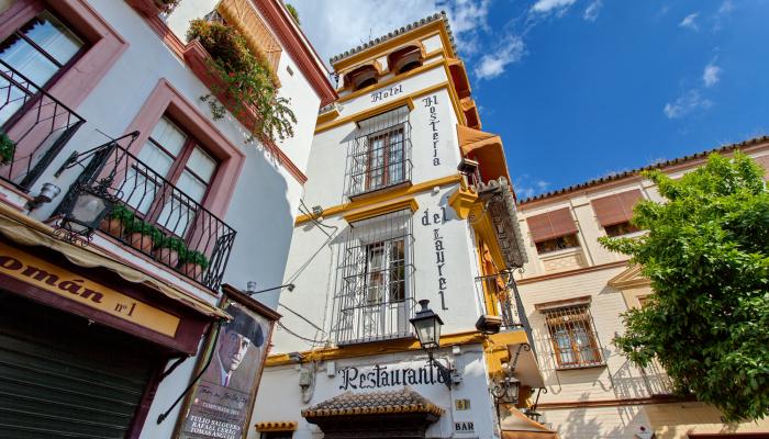 Street in Santa Cruz, Seville