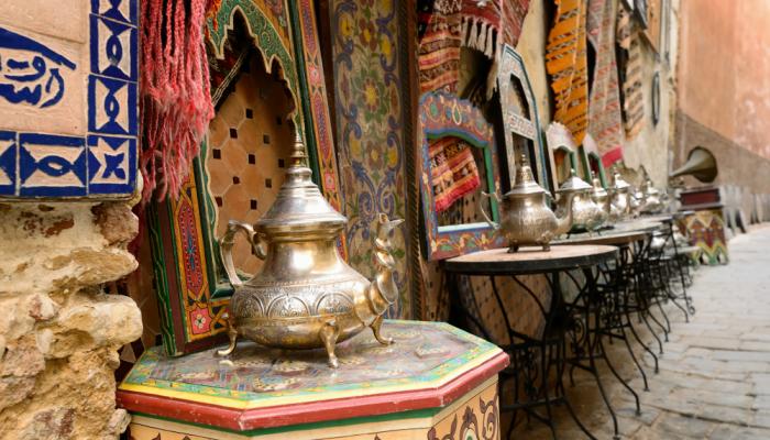 Medina in Tangier, Morocco