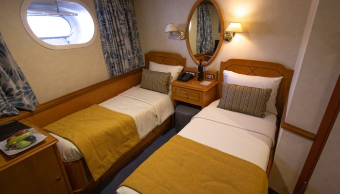 adventure cruise vs traditional cruise room