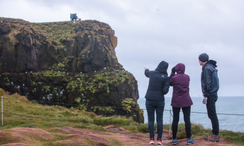 Travellers in Iceland