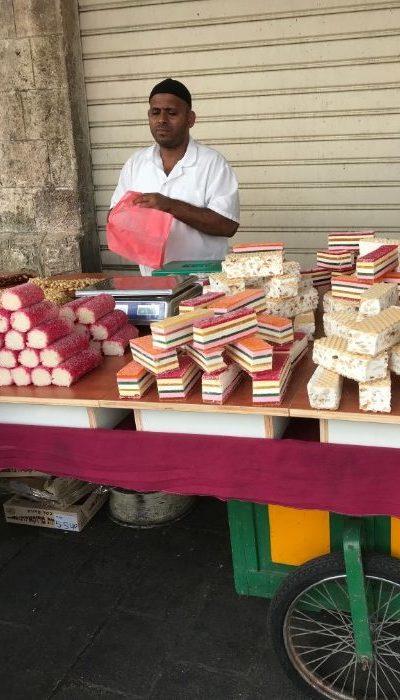 Israeli cake stand