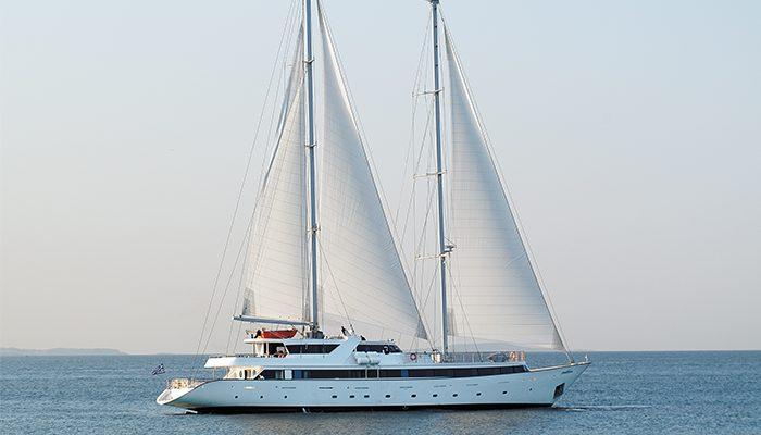 M/S Panorama II at sea