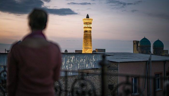 Kalon Minaret Uzbekistan
