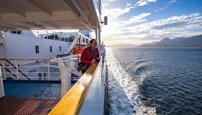 traveller on the Ocean Endeavour