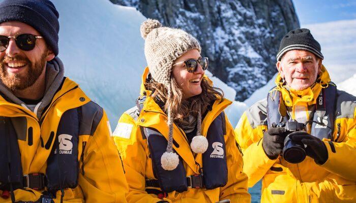 Travellers in Antarctica
