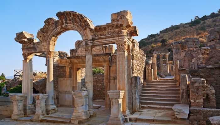 Photo of the ruins in turkey.