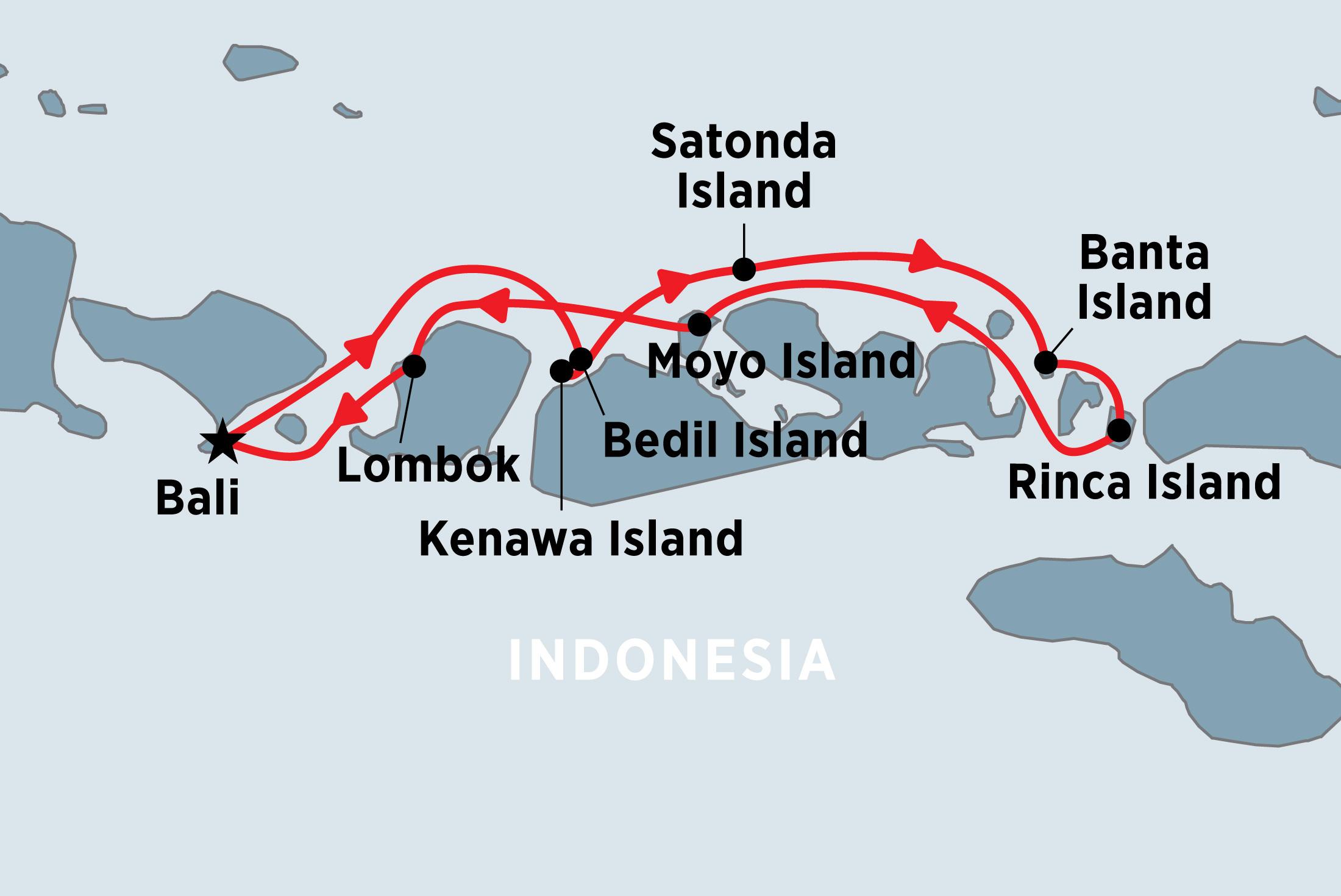 Indonesian Island Cruise overview   Indonesian Island Cruise