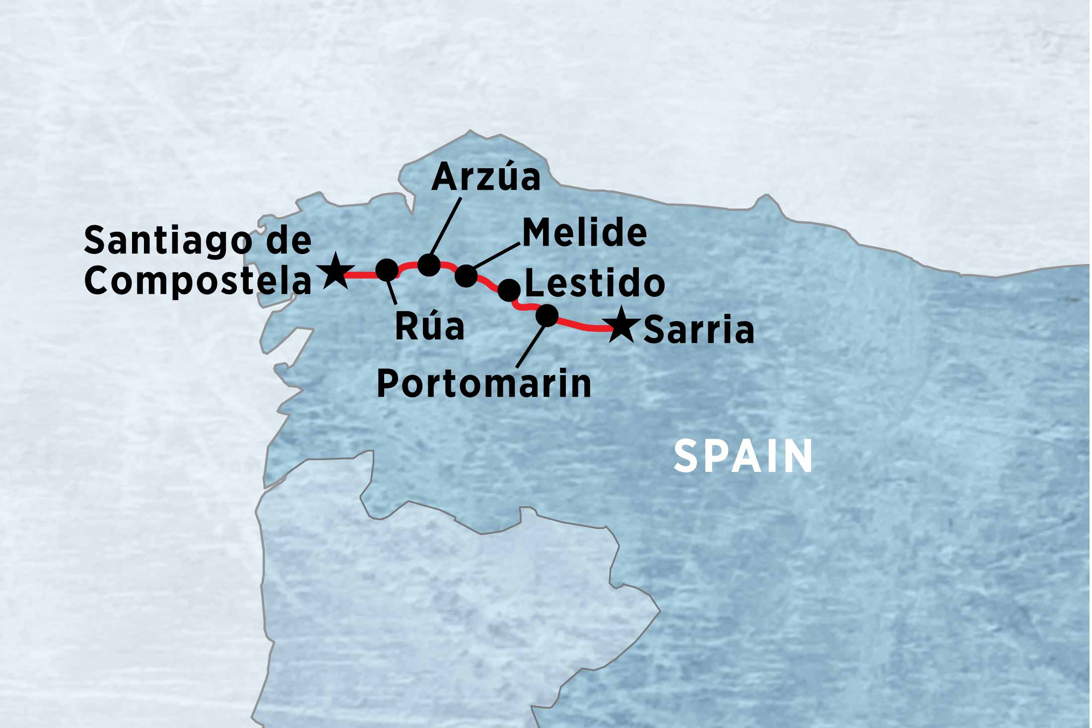 A Week on the Camino selfguided overview A Week on the Camino