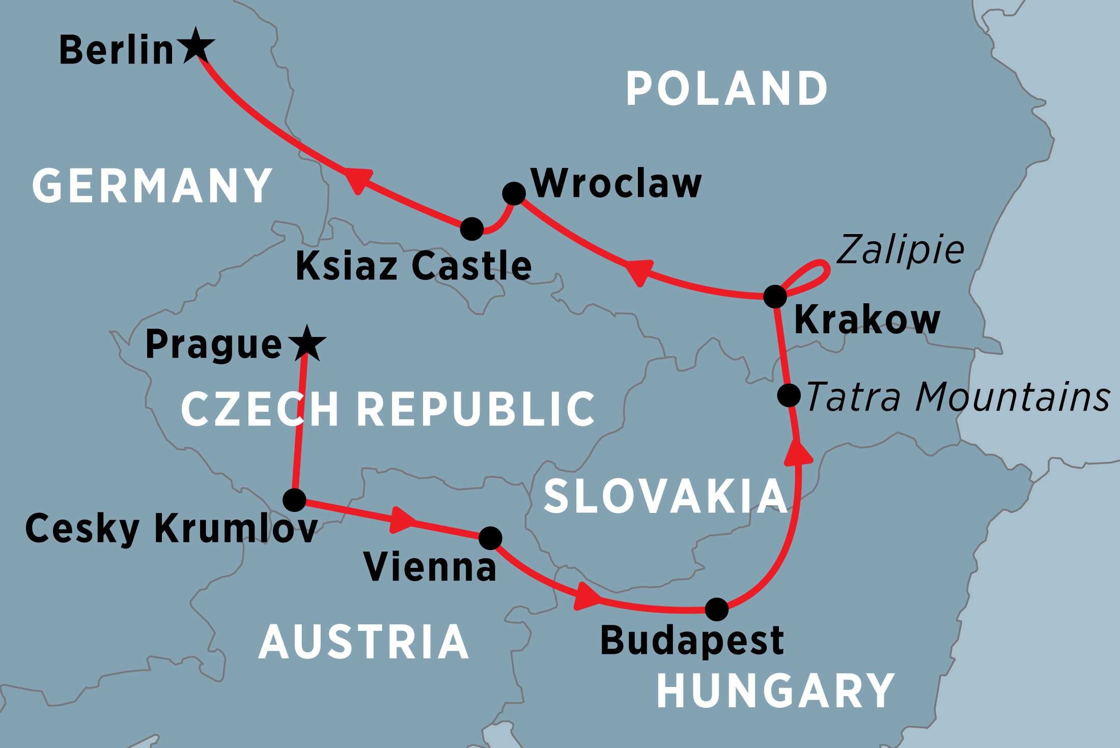 Map Of Germany Krakow.Central Europe Unveiled Overview Central Europe Unveiled