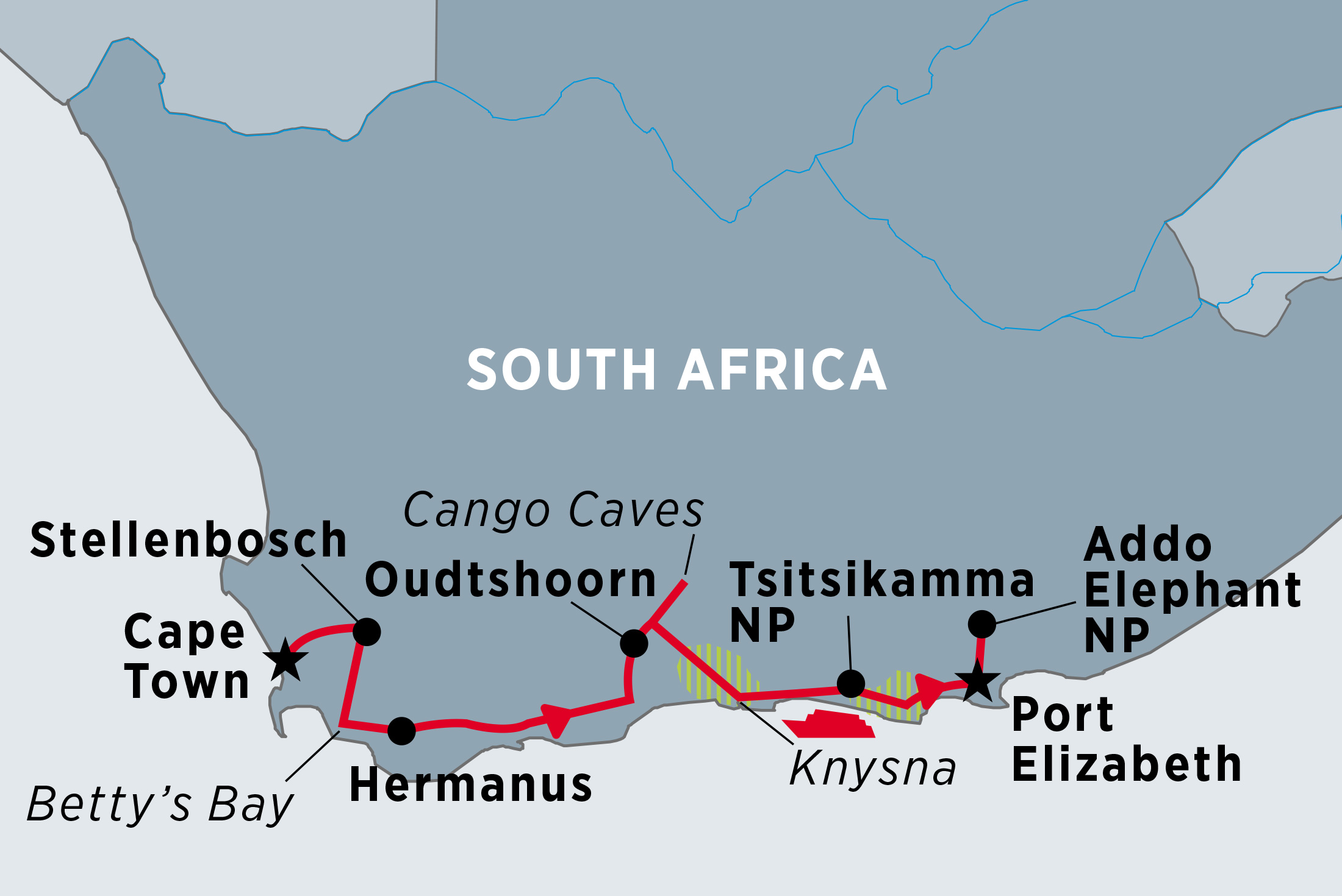 South Africa's Garden Route | Peregrine Adventures