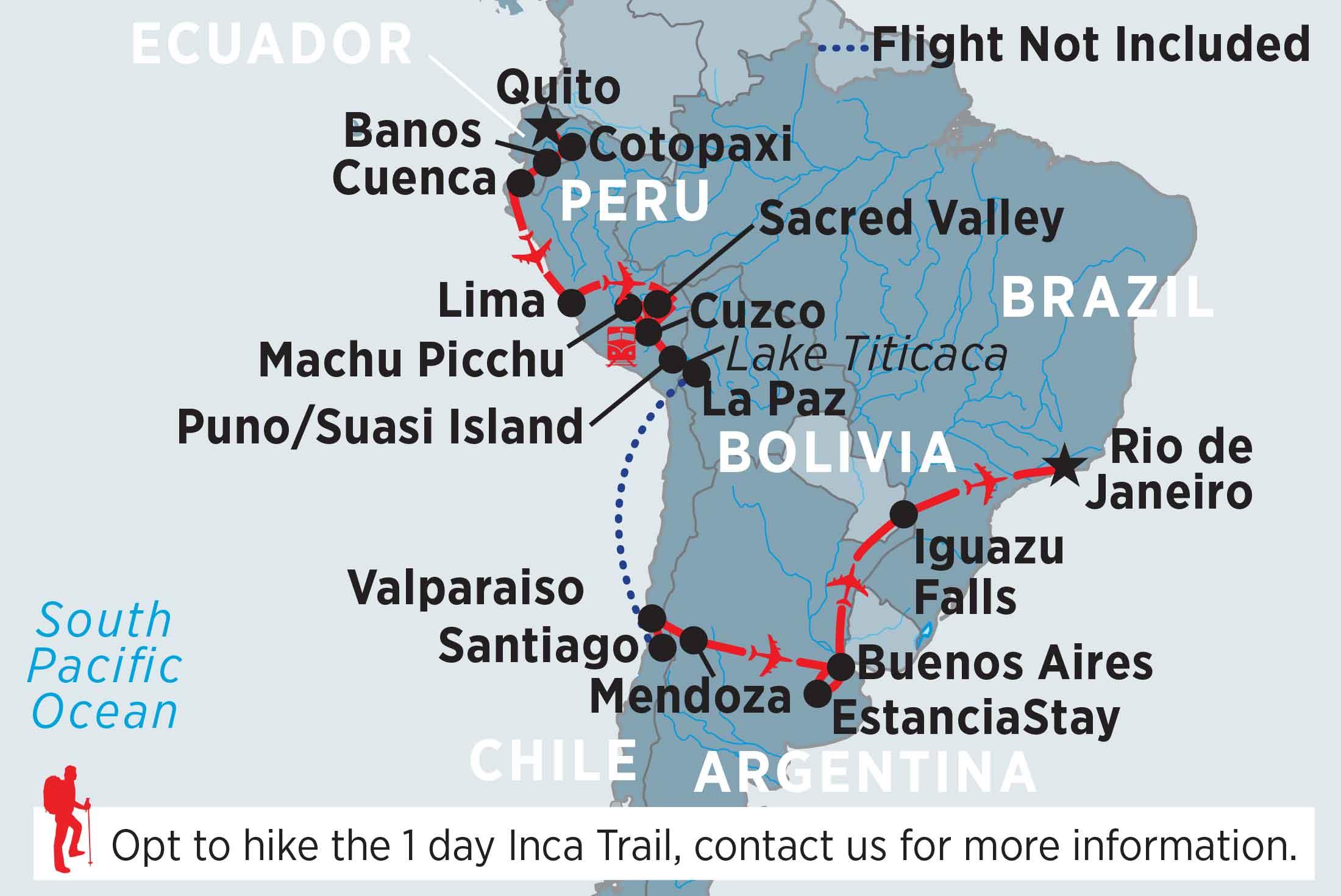 South America In Depth Peregrine Adventures Ie