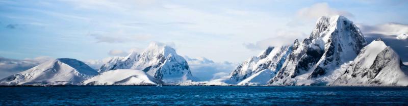 Antarctica snow ice water