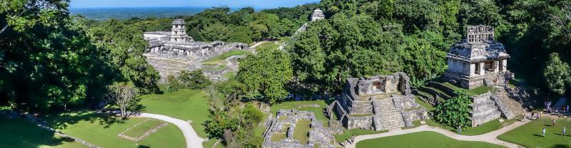 Mexico-mayan-ruins-aerial