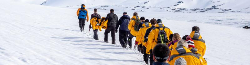 Antarctic landing sites