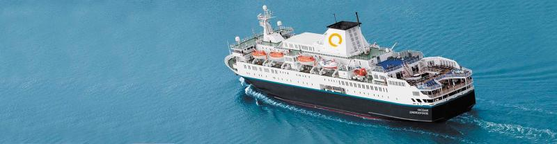 Ocean Endeavour ship, Antarctica