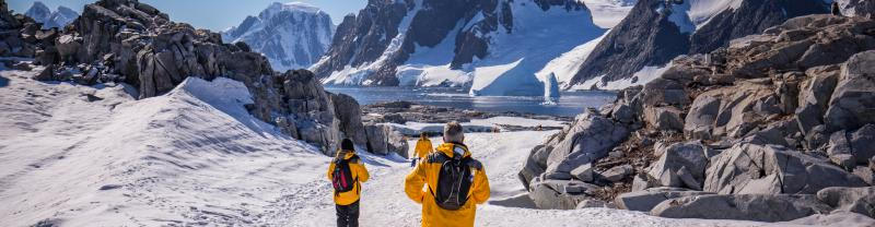 Travellers in Antarctica