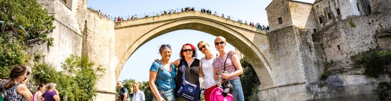 Travellers enjoying a Tailor-Made Experience in Croatia with Peregrine Adventures