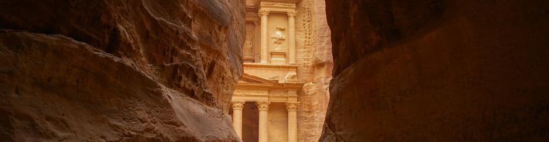 Coty of Petra, Jordan
