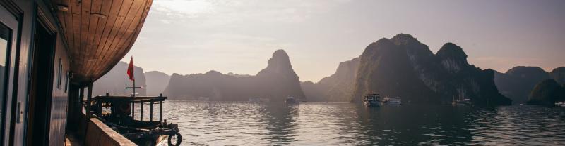 Halong Bay view in Vietnam